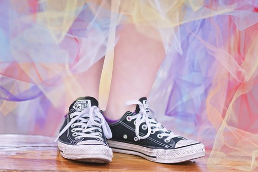 Converse, Classic, Retro, Vintage, Color, Texture