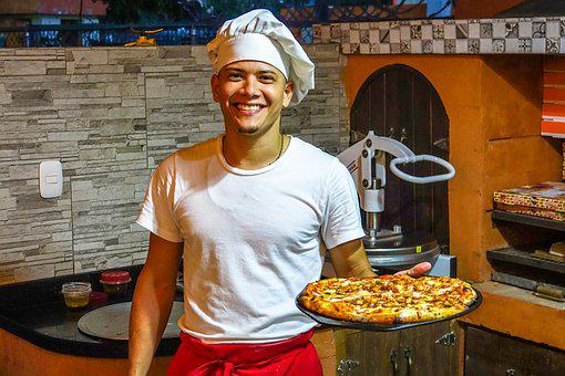 Pizza, Restaurant, Eat, Italian, Delicious, Food, Meal