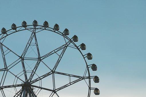 Ferris Wheel, Ferris, Amusement, Park, Carnival, Fair