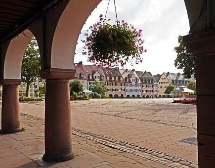 Freudenstadt, Marketplace, Northern Black Forest