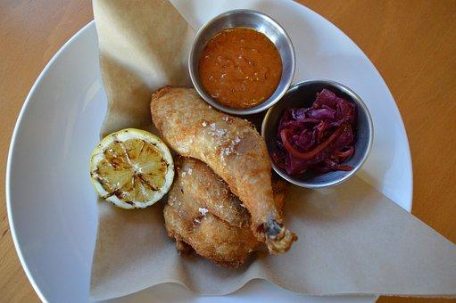 Fried Chicken, Peanut, Peanut Sauce, Restaurant