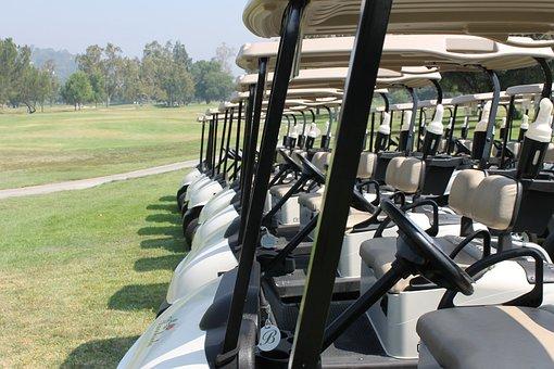 Golf, Cart, Golfer, Sport, Golf Cart, Game, Course