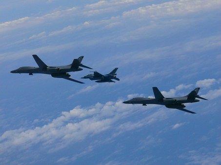 B-1b, Lancer, Bomber, South Korea, Korea, Air Force