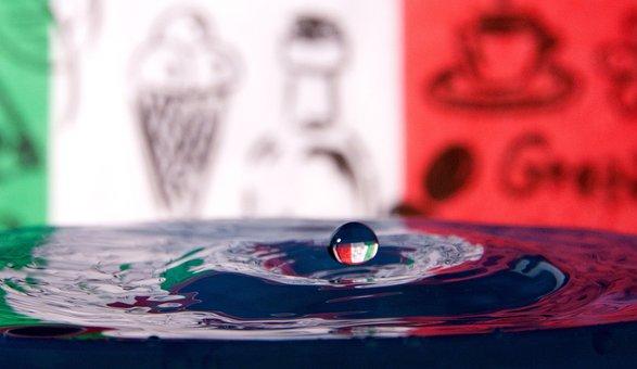 Water, Droplet, Drop, Blue, Liquid, Fresh, Clean, Clear