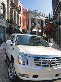 Los Angeles, Usa, Rodeo Drive, Limousine