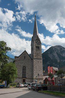 World Heritage, Hallstadt, Mountains, Austria, Alpine