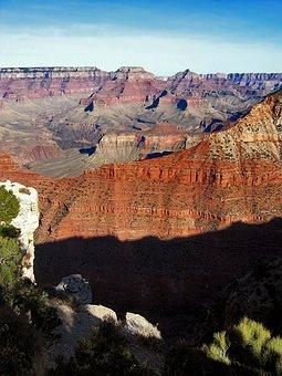 Grand Canyon, Usa, Landscape, America, Panorama, Gorge