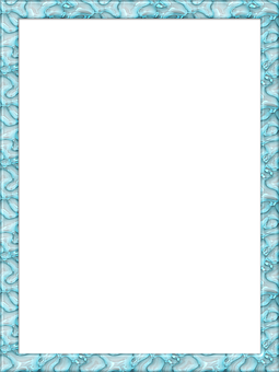 Frame, Photo Frame, Portrait, Glass, Blue, Transparent
