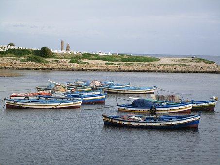 Tunisia, Mahdia, Port