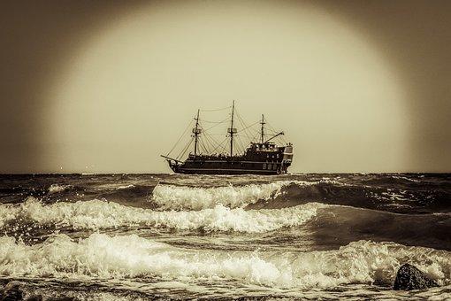 Battleship, Pirate Ship, Sailboat, Warship, Adventure