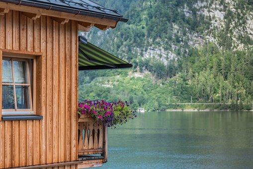 Balcony, Vacation, Lake, Bergdorf, Balcony Plants