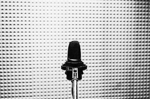 Microphone, Studio, Audio, Audio Equipment