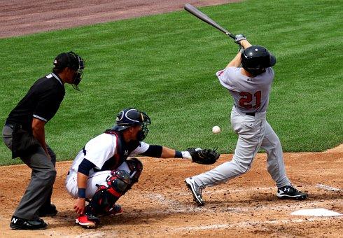 Baseball, Batter, Catcher, Umpire, Strike