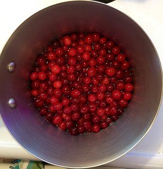 Cranberries, Christmas, December, Cooking, Dessert