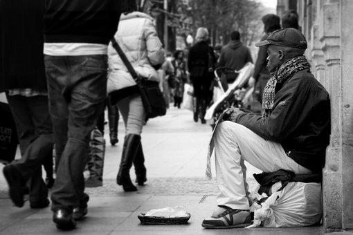 Poor, Beggar, Ethics
