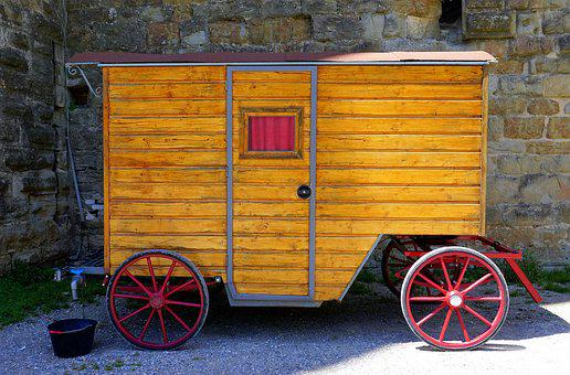 Truck, Medieval, Float, Transport, Wheels, Vehicle