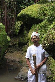 Old Man, Father, Bali, Old, Man, Senior, Grandfather