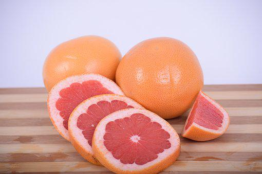 Grapefruit, Grapefruit Red, Citrus, Subtropical Fruit
