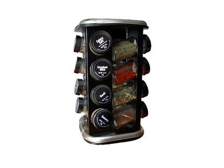 Spice Rack, Spices, Herb, Cooking, Ingredient
