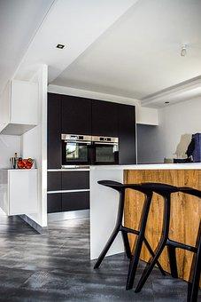 Kitchen, Modern Kitchen, Kitchen Nordic
