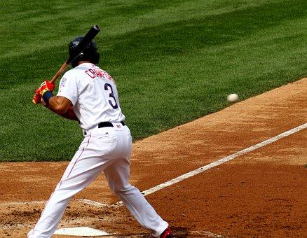Baseball, Batter, Ball, Pitch, Home Plate, Leftie