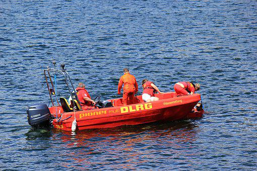 Dlrg, Boot, Water Rescue, Lifeboat, Rescue, Emergency