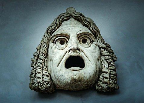 Mask, Sculpture, Horror, Fear, Person, Hide, Masquerade
