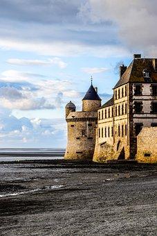 Mont Saint Michel, Abbey, Saint Michel, Island, Handle