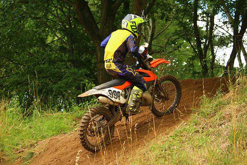 Motocross, Dirtbike, Slope, Enduro, Cross, Motorcycle