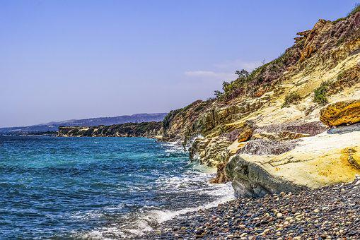 Coastline, Coast, Rocky, Pebbles, Cliff, Sea, Nature