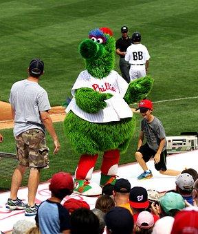 Phillie Phanatic, Phillies, Baseball, Mascot, Allentown