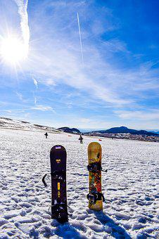 Snowboard, Ski, Winter, Snowy Landscape, Snow, Summit