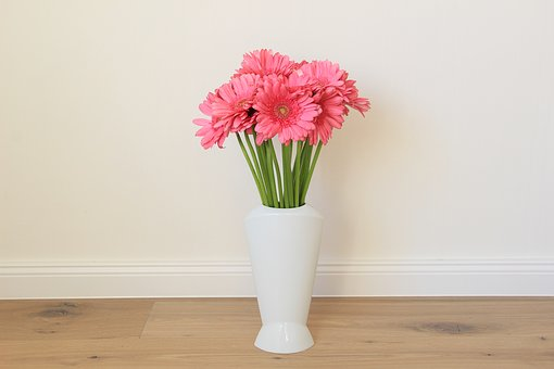 Flowers, Pink, Strauss