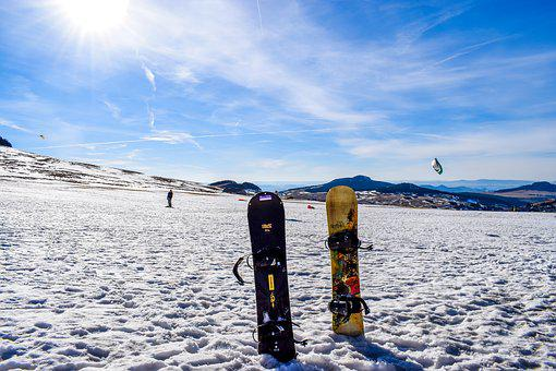 Snowboard, Ski, Winter, Snowy Landscape, Snow, Summit