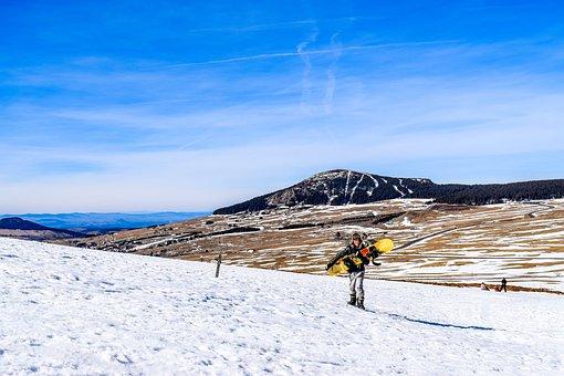 Mezenc, Winter, Snow, Snowboard, Ski, Winter Landscape