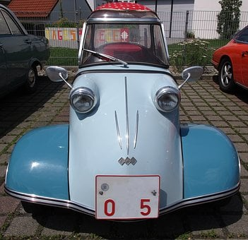 Oldtimer, Messerschmitt, Cabin Scooter, Mobile Scooter