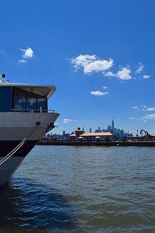 Ship, Cruise, Harbor, Nyc, Cruise Ship, River, Hudson