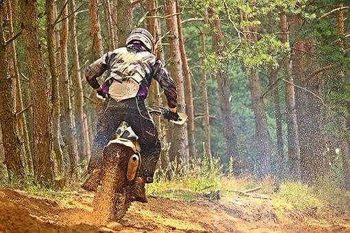 Motocross, Enduro, Dirtbike, Motocross Ride, Cross