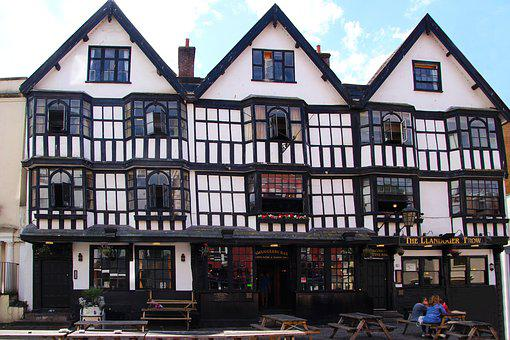 Tudor House, House, Architecture, Exterior, Home, Old