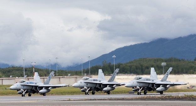 F-18c, Hornets, Usmc, Vmfa-21, Marines