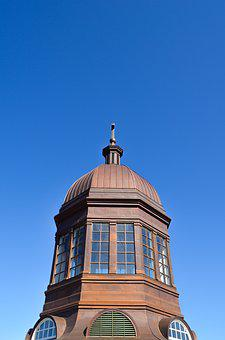 Dome, Sky, Architecture, Building, Glass, Cross