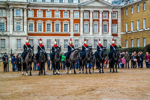 Republican Guard, England, Queen, King, Britain, Horse