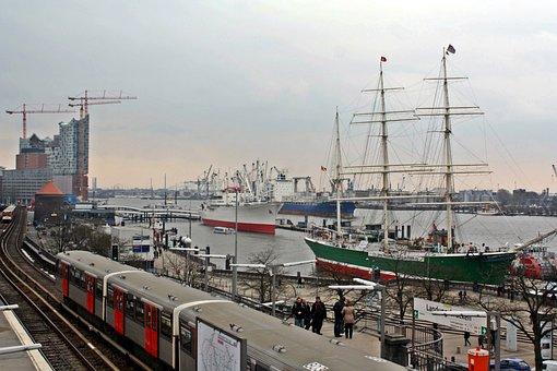 Landungsbrücken, Hamburg, Hamburgensien
