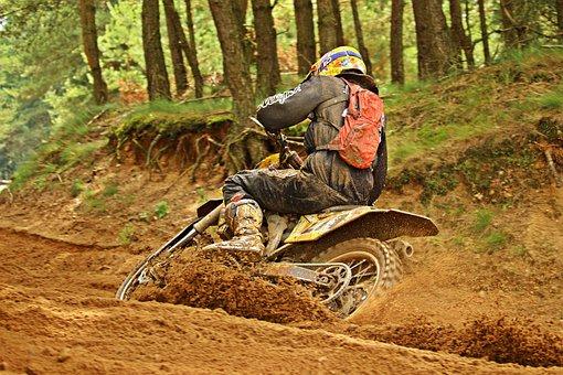 Motocross, Enduro, Motocross Ride, Motorcycle, Racing