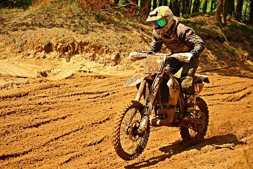 Motorcycle, Sport, Motorsport, Enduro, Dirtbike