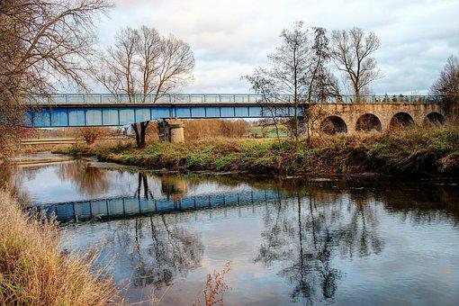 River, Diemel, North Rhine Westphalia, Warburg