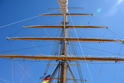 Technology, Sailing Vessel, Rigging, Navy, Mast
