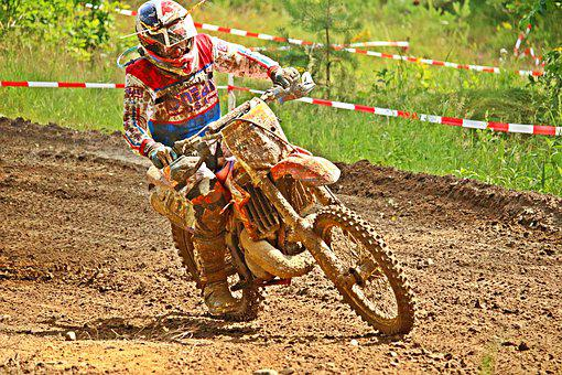 Enduro, Sport, Motocross, Dirtbike, Motorcycle Sport
