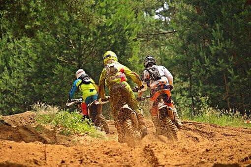 Motocross, Race, Enduro, Sport, Dirtbike, Driver