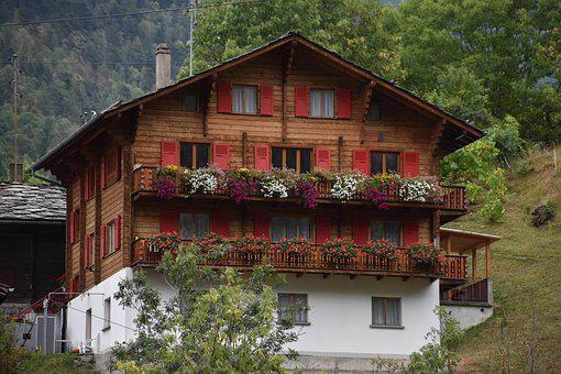 Switzerland, Chalet, Vacation, Smart, Shops, Alpine